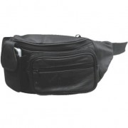 DBE Solid Leather Fanny Pack DBE3443