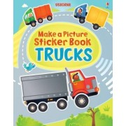 Make a Picture Sticker Book: Trucks by Felicity Brooks