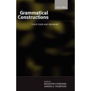 Grammatical Constructions by Masayoshi Shibatani