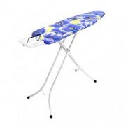 Table à repasser A, 110x30cm avec repose-fer stop vapeur - Ivory - Purple Anemone