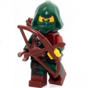 Идентифицирана минифигурка Лего Серия 16 - Lego series 16 Rogue, 71013-11