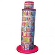 Ravensburger puzzle 3d turnul din pisa colorat, 216 piese