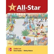 All Star Level 1 Student Book with Work-Out CD-ROM by Linda Lee