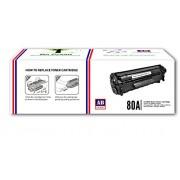 AB 80A/CF280A Compatible Black Toner Cartridge for HP 400, M401, M401d, M401dn, M401dw, M401n, M425dn, M425dw