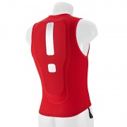 Arva Action Vest - Protection buste - rouge S Protections ski
