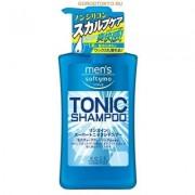 """Kose Cosmeport """"Men's Softymo"""" Мужской тонизирующий шампунь для волос, с цитрусовым ароматом, 550 мл."""