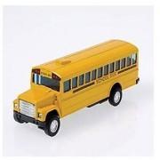 Die Cast Metal Toy School Bus 5 Model: