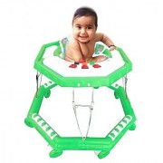 Suraj Baby parrot color 8 wheel musical Walker for your kids Se-W-56