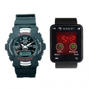 TCT SHOWMY AND MY WATCH ANALOG DIGITAL WATCHES SET OF 2