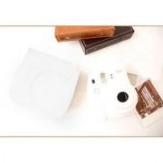 PU Leather Camera Bag Shoulder Strap for Fuji Fujifilm Instax Mini8 White