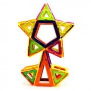 158 Piezas bloques magneticos de juguetes educativos para ninos - Multicolor
