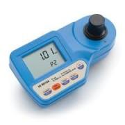 Fotómetro medidor de Ácido cianúrico, Cloro libre y total, y pH, HI 96104