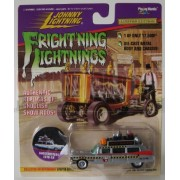 Johnny Lightning Frightning Lightning Ghostbuster Ecto 1 A Silver. 1 Of Only 17,500 Ever Made. Die Cast Metal Body And Chasis