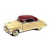 "Motormax GOTZMM73111YL 1:18 Scale Yellow ""1950 Chevy Bel Air"" Die Cast Model Car"