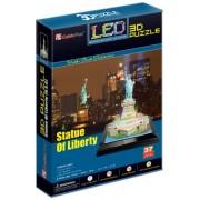 Cubic Fun L505H - 3D Puzzle La Statua della Liberta con LED New York Usa