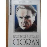 Introducere In Opera Lui Cioran - Richard Reschika