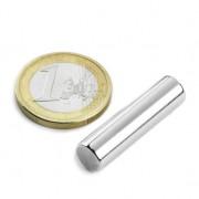 Magnet neodim cilindru, diametru 8 mm, putere 2,7 kg