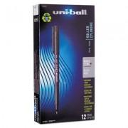 Onyx Roller Ball Stick Dye-Based Pen, Black Ink, Micro, Dozen