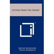 Letters from the Desert by Moshe Mosenson