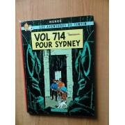 Les Aventures De Tintin : Vol 714 Pour Sydney 1968 Second Tirage