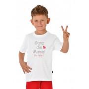 Trigema Jungen T-Shirt 100% Baumwolle Größe: 116 Material: 100 % Baumwolle, Ringgarn supergekämmt Farbe: weiss