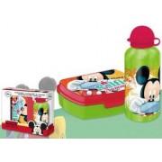 Disney Mickey uzsonnás doboz+alumínium kulacs szett