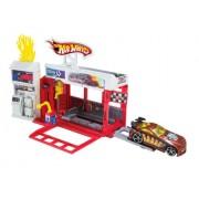 Hot Wheels Raceway Fire Station Play Set