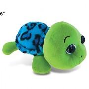Big Eye 6 Plush - Blue Shell Sea Turtle