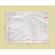 Csomagkísérő tasak, Okmánytasak (Dokufix tasak) C/6 öntapadós 250 db/csomag