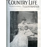 Country Life Illustrated, Vol. Vi, N° 133, July 1899 (Contents: Our Portrait Illustration : The Duchess Of Marlborough The Shamrock. Country Notes. Yachting: Cruising In Home Waters. ...