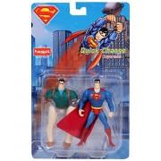 Funskool Superman Quick Change Figure, Blue