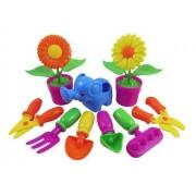Little Garden Tools 9-Piece Gardening Set for Kids (Assorted Styles)