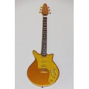 Guitare Miniature - Brain May - Queen - Custom Gold