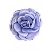 Лилава брошка Роза