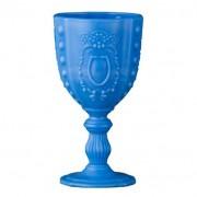 Seis F Decor Taças Opalina Conjunto 6 Peças Azul 6F Decor