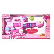 Music Mix Electronic Toy Guitar with Music and Lights. Great Colorful Musical Child Gift. stimulates your toddlers sight