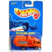 Hot Wheels #143 Recycling Truck 1:64 Scale Collectible Die Cast Car Mattel