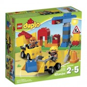 LEGO DUPLO Town 10518 My First Construction Site Building Set(Discontinued by manufacturer) by LEGO