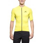 X-Bionic The Trick Biking Shirt Short Sleeves Full Zip Men Green Sheen/Black XL Velotrikots kurz sportiv