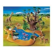 Playmobil 4827 Le Poste D'observation Avec Les Animaux De La Savane Safari