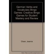 German Verbs and Vocabulary Bingo Games by Jeanne Olsen