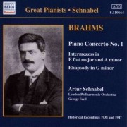 J Brahms - Great Pianists: Schnabel (0636943166420) (1 CD)