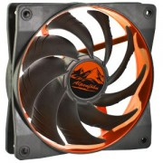 Ventilator 120 mm Alpenfohn Wing Boost 2 Plus PWM Deep Orange