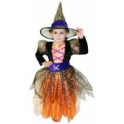 Kostým - Čarodějnice velikost 6-8 let