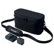 Panasonic VW-ACT380E-K videokamera geantă + acumulator + încărcător set
