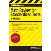 Cliffsnotes Math Review for Standardized Tests 3rd Edition by BTPS Testing