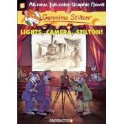 Geronimo Stilton Graphic Novels #16: Lights, Camera, Stilton! by Geronimo Stilton