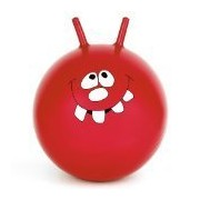 24 Inch Large Jump & Bounce Space Hopper Retro Ball Adult/Kid Outdoor Toy New - RED by Gifts4Home