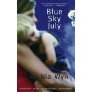 Blue Sky July by Nia Wyn