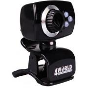 Camera web 4World 2 Mpx USB 2.0 iluminareLED cu microfon black